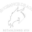 Vengeance Dragon Corner Crest (Light on Dark) by CaptainMaiola