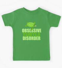Besessene Schildkröten-Störung - lustiges Meeresschildkröte-Geschenk Kinder T-Shirt