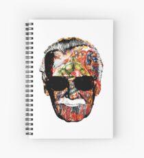 Stan Lee Collage Spiral Notebook