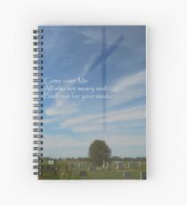 Come Unto Me Spiral Notebook