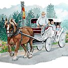 Horse & Buggy by clotheslineart