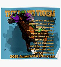 Triple Crown Winners 2015 Poster