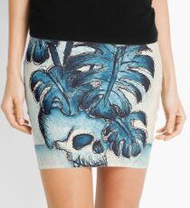 Mysterious Planter Mini Skirt