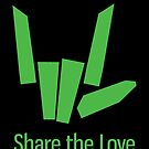 Share The Love Trending Apparel by Grampus
