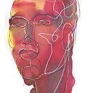 « Portrait orangé » par experimentons