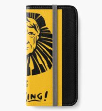 """""""The Lyin King"""" Design For Democrats  iPhone Wallet/Case/Skin"""
