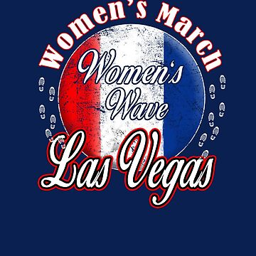 LAS VEGAS NEVADA Women's Wave 2019 March NV T-Shirt by WearYourVoice