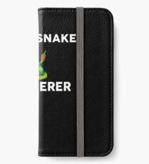 RATTLESNAKE Whisperer T-Shirt Novelty RATTLESNAKES TShirt iPhone Wallet/Case/Skin