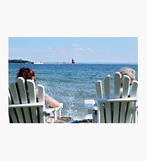Lakeside Relaxation Photographic Print
