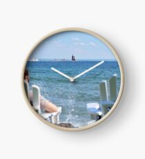 Lakeside Relaxation Clock
