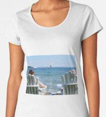Lakeside Relaxation Women's Premium T-Shirt