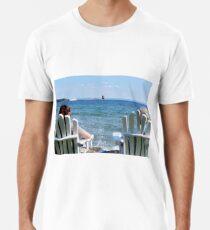Lakeside Relaxation Men's Premium T-Shirt