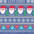 Lets Dance Ugly Christmas Sweater by CreatedTees