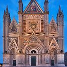 Ornate Cathedral at dusk by Mario Curcio