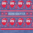 Moms Christmas Sweater by CreatedTees