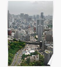 Tokyo Tower View  Poster