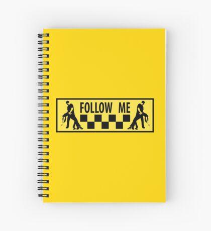 follow me dancer Spiral Notebook