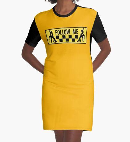 follow me dancer Graphic T-Shirt Dress