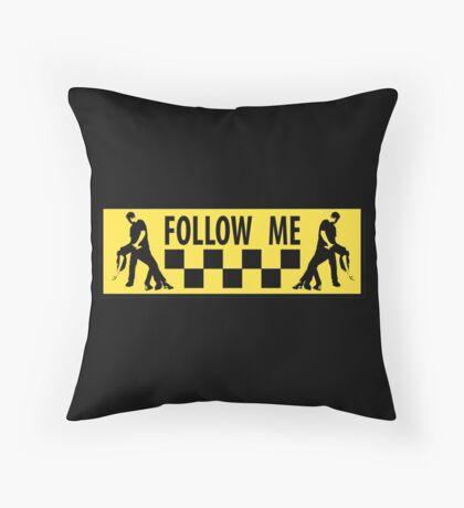 follow me dancer Throw Pillow