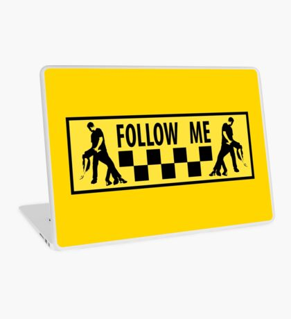 follow me dancer Laptop Skin