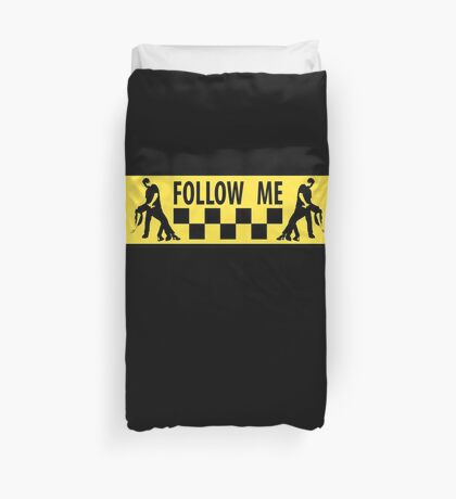 follow me dancer Duvet Cover