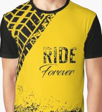 Top seller best quality Ride forever motorbike dust dirt tracker t-shirt sticker apparel Graphic T-Shirt