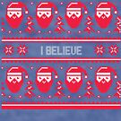 I Believe Christmas Sweater by CreatedTees