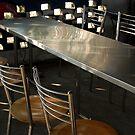 TABLES & CHAIRS AT A ROADSIDE DHABA by RakeshSyal