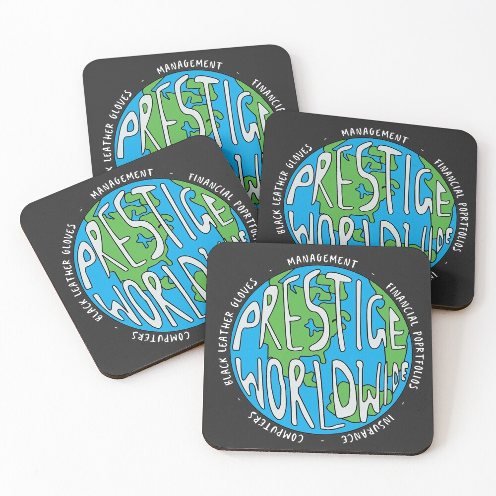 Step Brothers | Prestige Worldwide Enterprise | The First Word In Entertainment | Original Design Coasters (Set of 4)