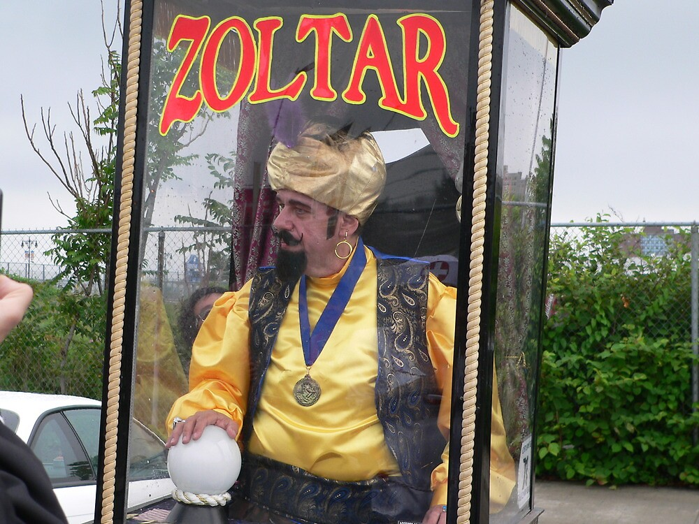 Zoltar the Fortune Teller by andytechie