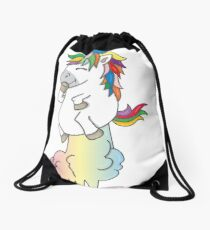 Mochila de cuerdas Pedo de unicornio