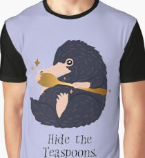 Hide the Teaspoons Graphic T-Shirt