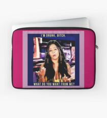 snooki i'm drunk bitch what do you want from me Laptop Sleeve