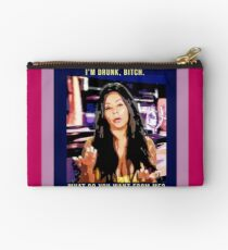 snooki i'm drunk bitch what do you want from me Studio Pouch