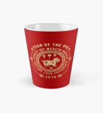 Chinese New Year of The Pig 2019 Meaning Tall Mug