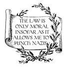 Insofar As I Can Punch Nazis by QGPennyworth