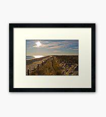 Duxbury Dunes Framed Print