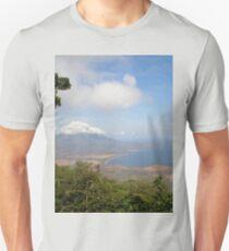 a historic Gabon landscape Unisex T-Shirt