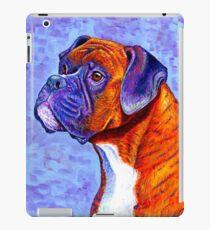 Colorful Brindle Boxer Dog iPad Case/Skin