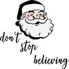 Don't Stop Believing in Santa by Nataliatcha