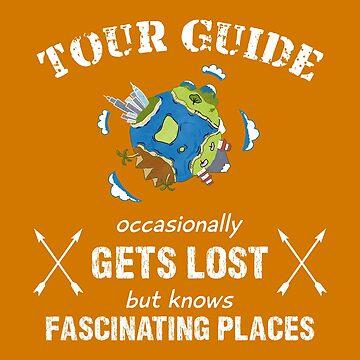 funny shirt tour guide – travel by Juttas-Shirts