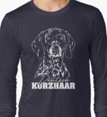 GERMAN SHORT HAIR hunting dog dog dogs gift idea Long Sleeve T-Shirt
