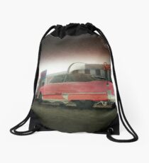 american diner caddy Drawstring Bag