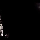 The church and the moon by Purplecactus