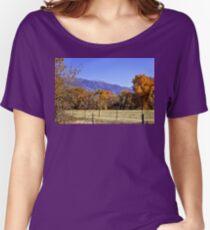 Purple Mountain Majesties Women's Relaxed Fit T-Shirt