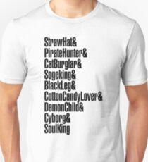 One Piece - Straw Hat Crew! Unisex T-Shirt