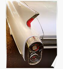 1960 Caddy Fins Poster