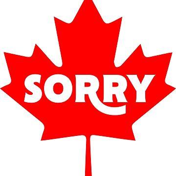 Sorry - On Maple Leaf - Canada by navi-singh