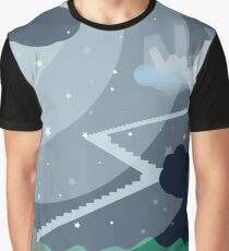Stairs to the ghost island Graphic T-Shirt