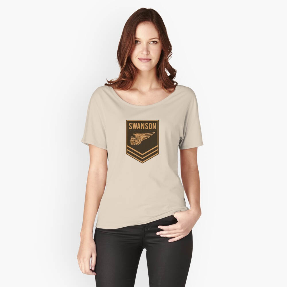 Parks and Recreation - Swanson Ranger Club Relaxed Fit T-Shirt